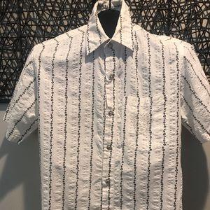 Vintage Versace Medusa Shirt Medium